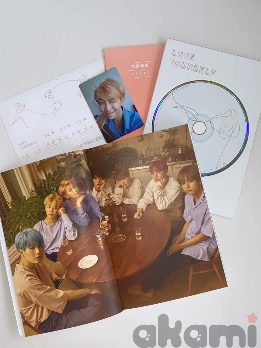 BTS LOVE YOURSELF официальный альбом at075 - 1