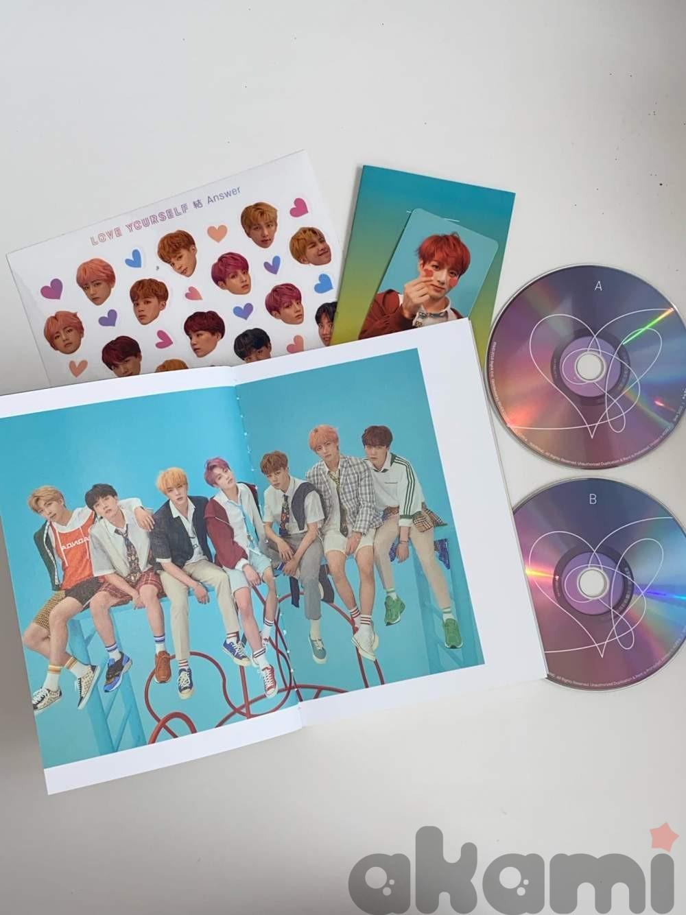 BTS LOVE YOURSELF официальный альбом at075 - 2