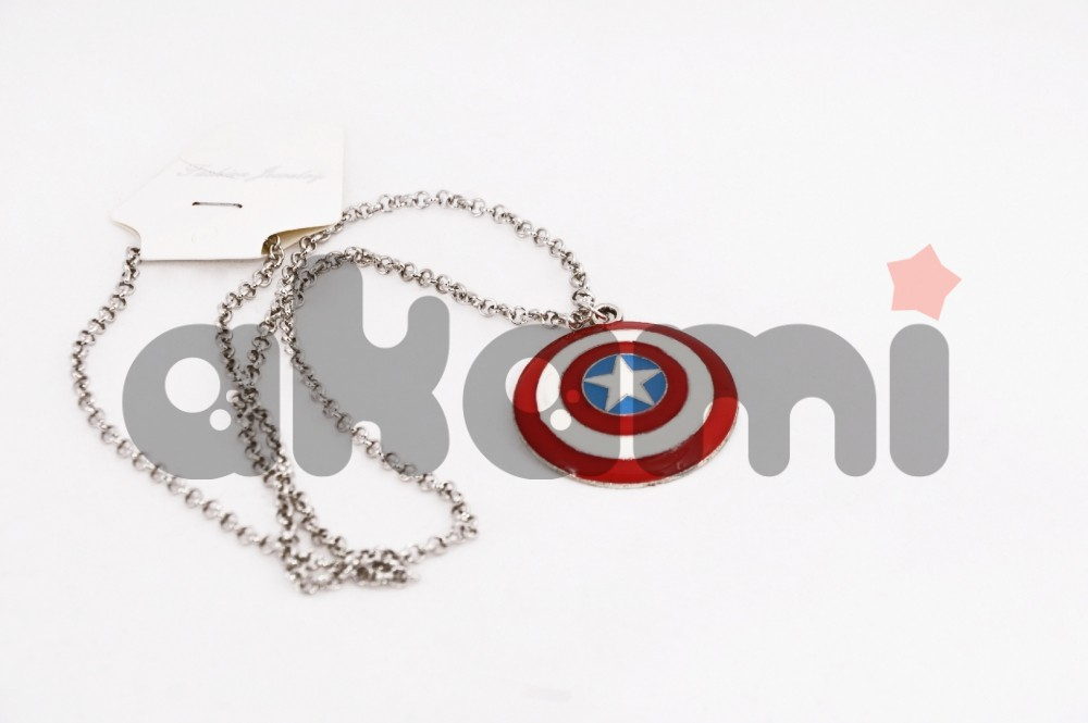 Marvel Captan America shield кулон fl128 - 39352