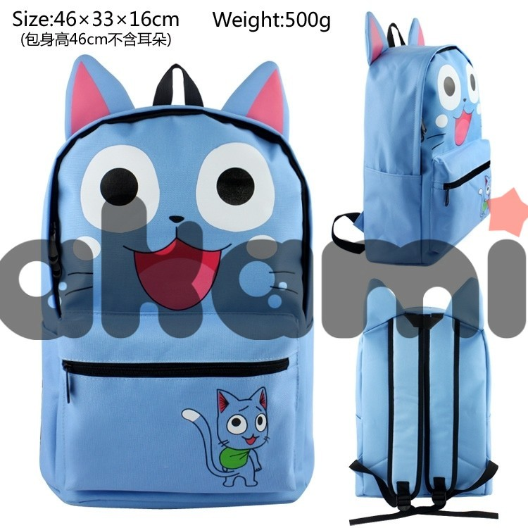 Fairy tail Happy Dimensional modeling happy backpack bag 789 - 41700