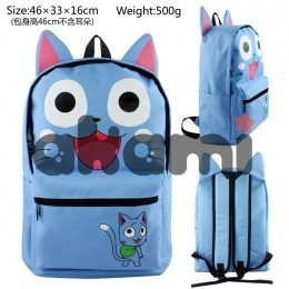 Fairy tail Happy Dimensional modeling happy backpack bag 789